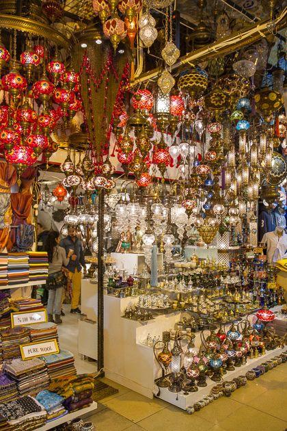 Stores Inside the Grand Bazaar