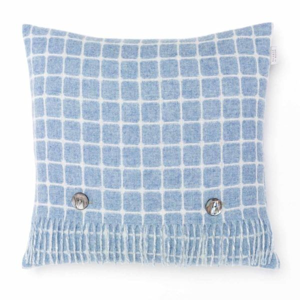 Athens Check Cushion – Bronte by Moon