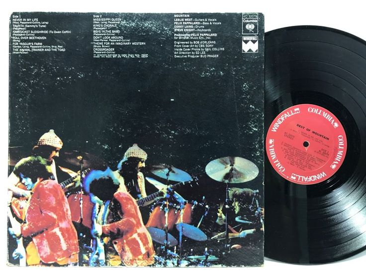 Mountain, The Best of Vinyl Columbia Records 1973 KC-32079 LP Vinyl Record