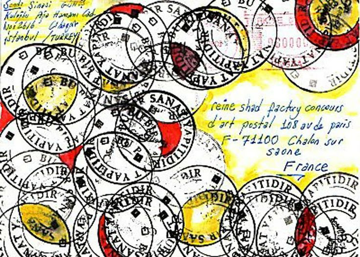 exhibitions of mail art