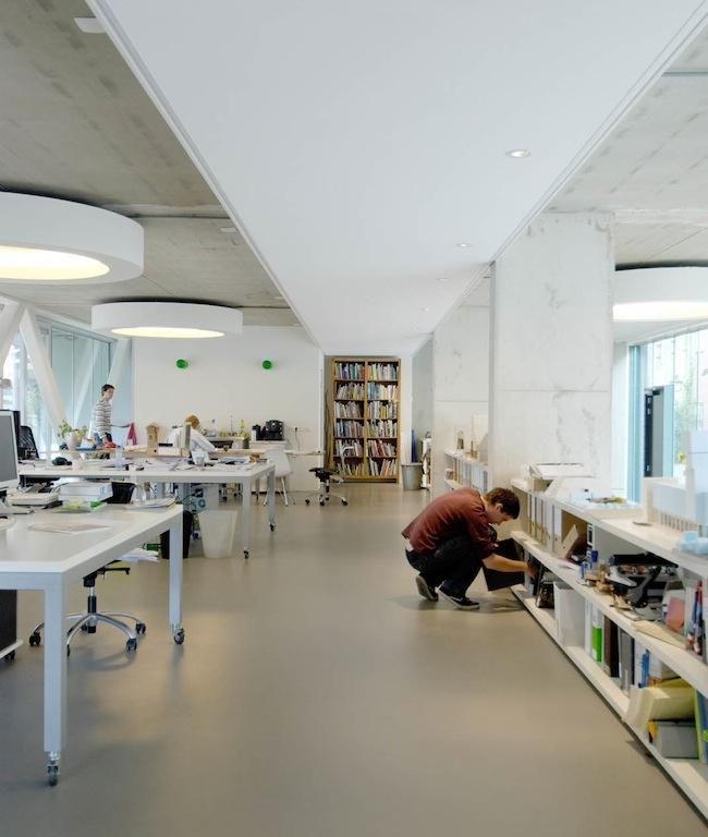 bakers architecten - studio: Half Wall