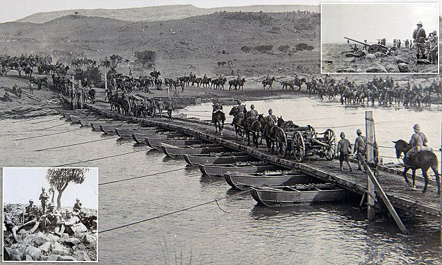 Fascinating rare photographs show soldiers in Boer War
