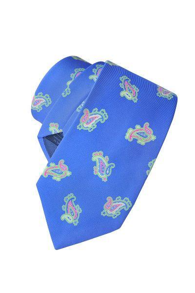 Corbata de seda twill, Olimpo. Credits: Olimpo