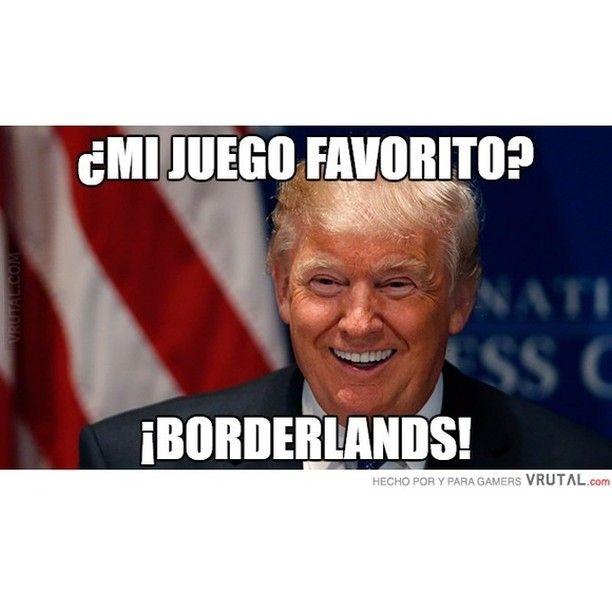 El juego favorito de Donald Trump #mexico #borderlands #muro #frontera #Trump #humor #vrutal #memondo by vrutalgames