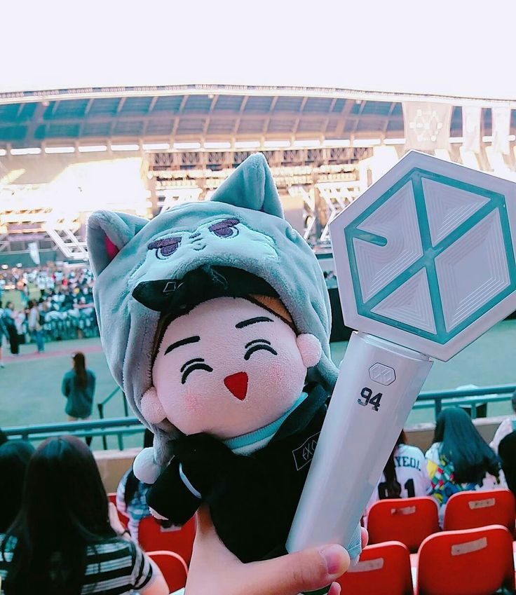 || EXO LIGHTSTICK with EXO DOLL || #EXO #goods
