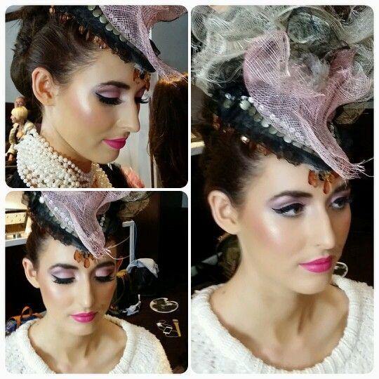 Hair Expo 2014. Makeup by Graduate Elli Mizyed