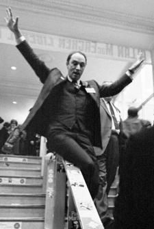 Prime Minister Pierre Elliot Trudeau was youthful, playful, tolerant, and sometimes defiant. He initiated the decriminalization of gay sex in Canada with Bill C-150, in 1969
