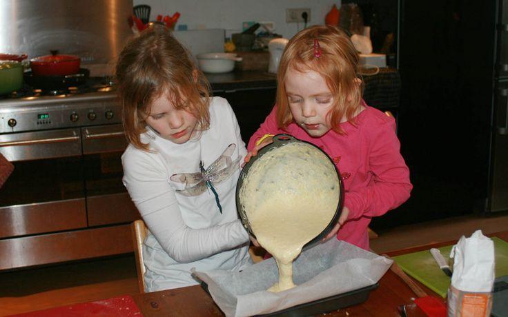 Mergpijpjes gemaakt door Annemijn, Jobke, Isabella en Ferieke - Kids in the Kitchen