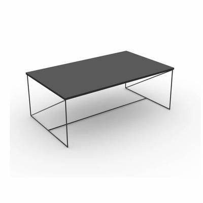 WALTER Table basse 100x60 cm - Gris - Achat / Vente table basse WALTER Table basse - Cdiscount