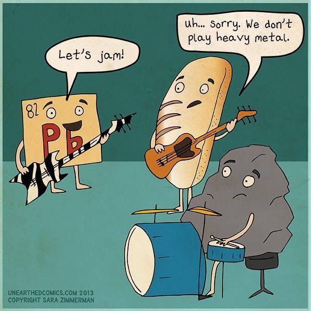 Let's Jam!: Science Humor