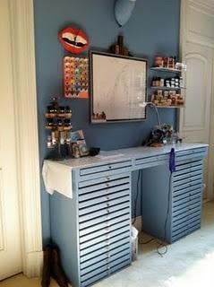 craft storage: Craft Space, Room Ideas, Craftroom, Crafty Storage, Craft Storage, Storage Ideas, Craft Rooms