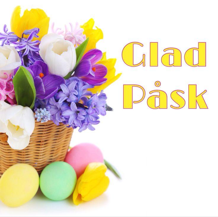Glad påsk - kort