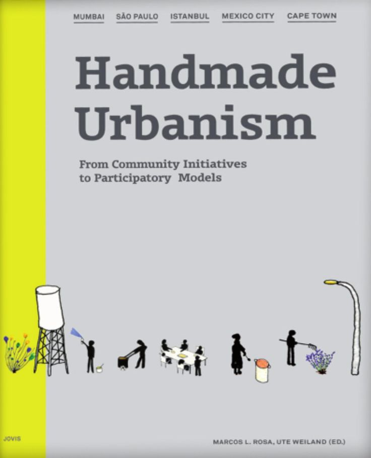 BOOK: Handmade Urbanism