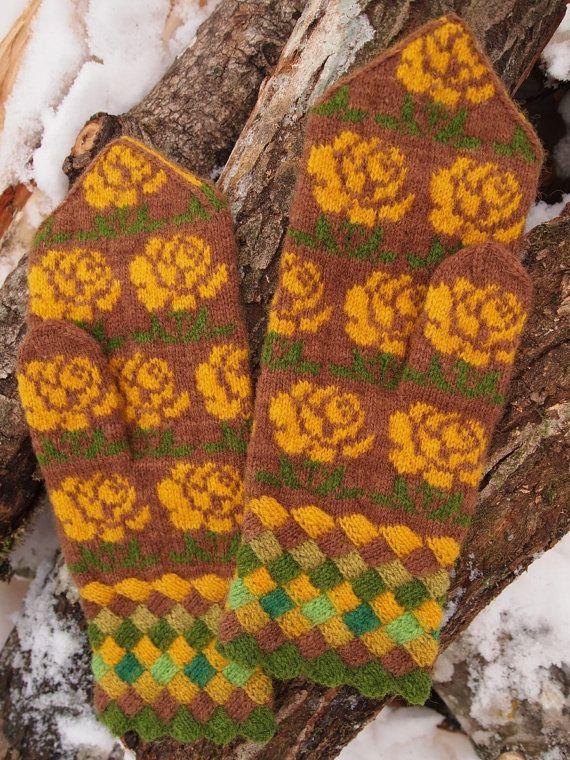 Estonian (Seto) mittens