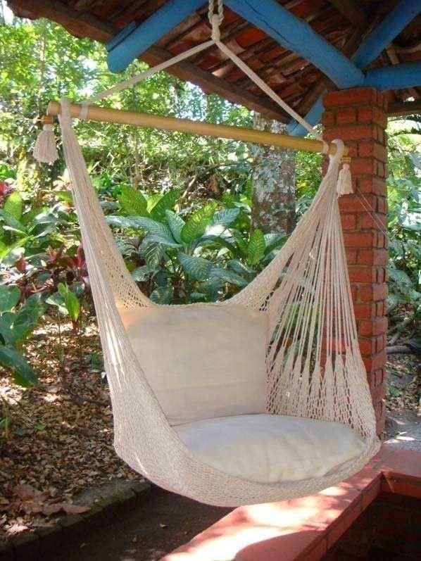 Die besten 25+ Hanging hammock Ideen auf Pinterest Hängesessel