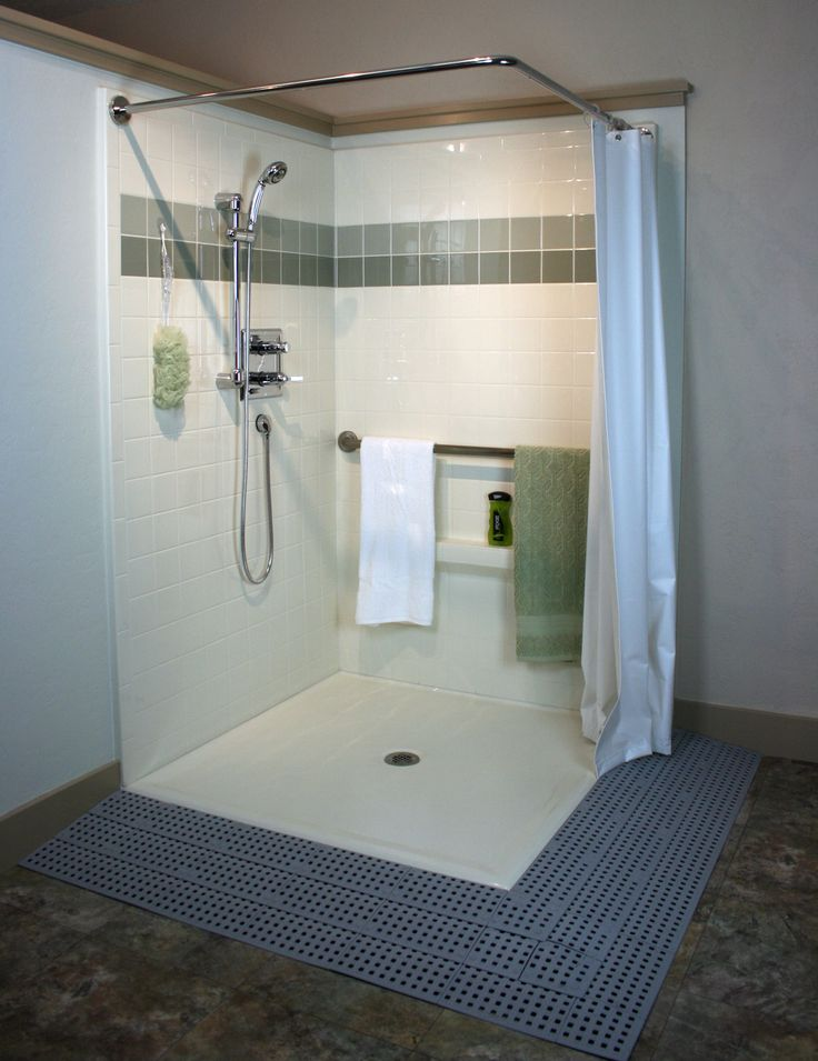 14 best images about senior poses wheelchair on for How to build a wheelchair accessible shower