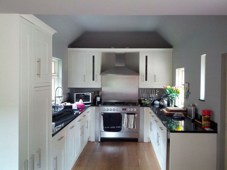 Kitchen Painted In Little Greeneu0027s U0027French Grey ...