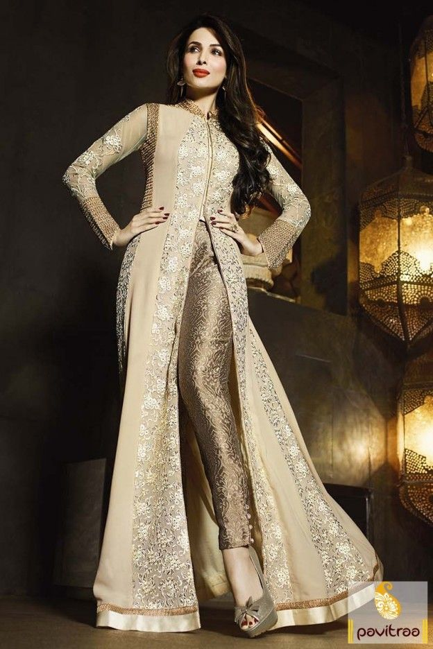 Beige Color Malaika Arora Salwar Kameez Online #salwarsuit, #bollywoodsalwarsuit more: http://www.pavitraa.in/catalogs/malaika-arora-designer-salwar-kameez-dresses-online/?utm_source=rn&utm_medium=pinterestpost&utm_campaign=20jun