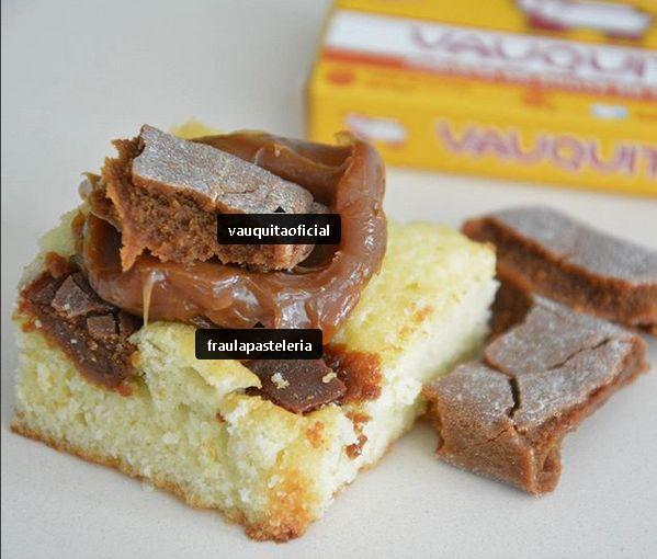 Brownie blanco + vauquita