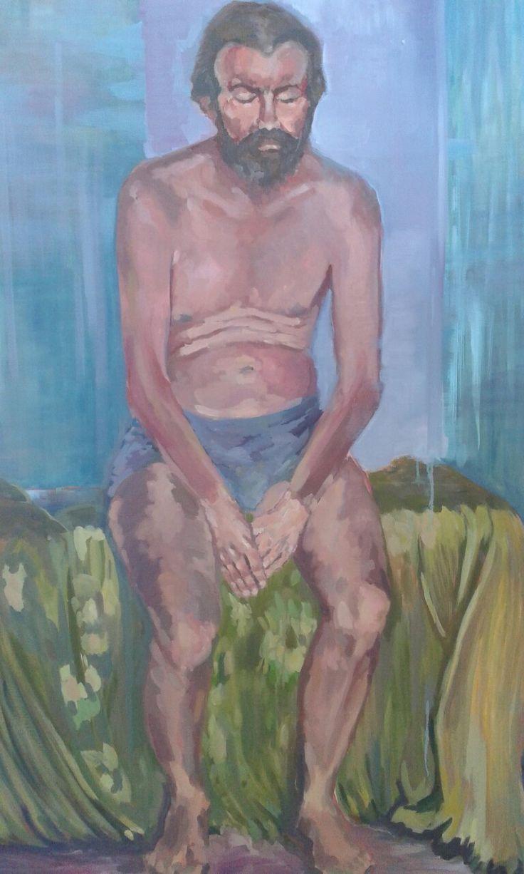 Paint oil ...figura zivotna