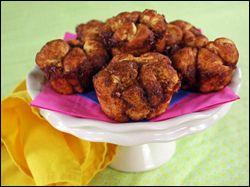"Hungry-Girl ""Monkey Bread"" recipe.  :)"