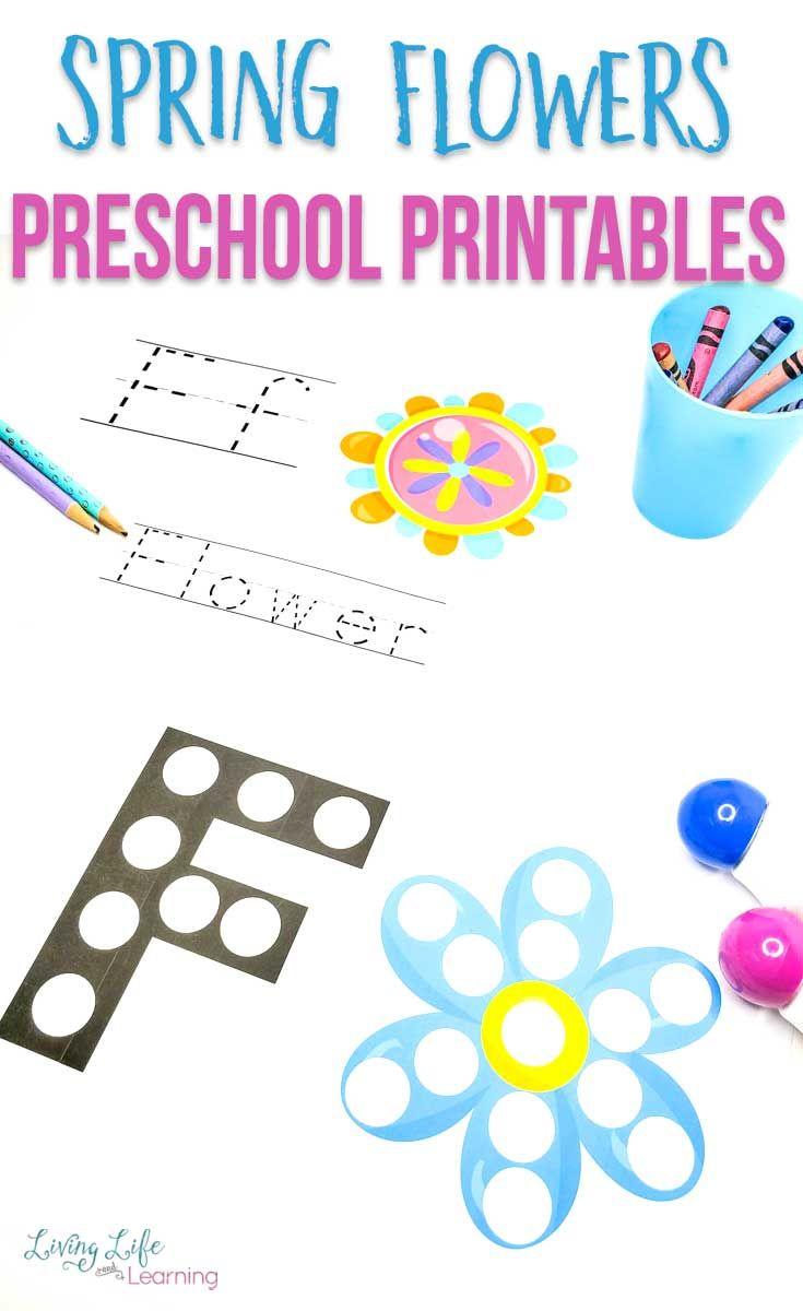 Spring Flower Preschool Printables Spring Preschool Activities Preschool Printables Printable Activities For Kids [ 1200 x 735 Pixel ]