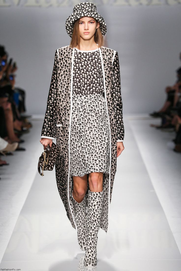 Max Mara spring/summer 2015 collection - Milan fashion week