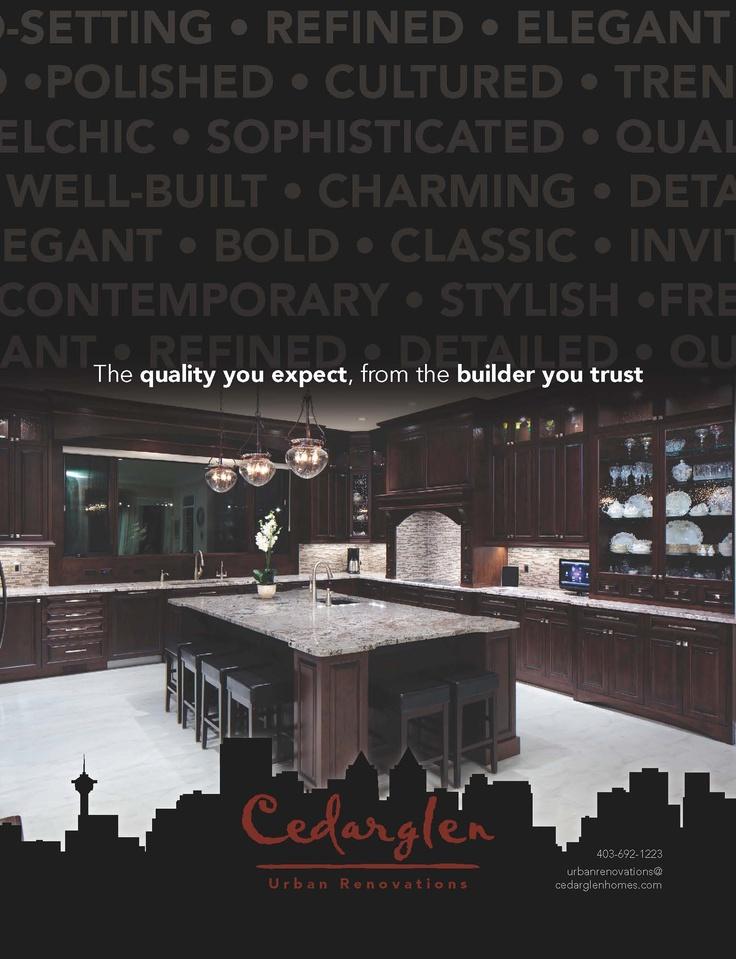 Cedarglen Urban Renovations magazine advert.