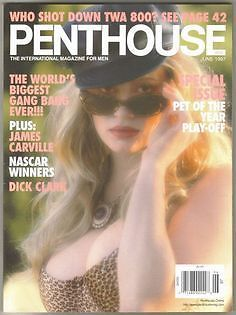 Penthouse Magazine June 1997 - Dayna Ann Pet/Cover, Pet of Year Play-Off