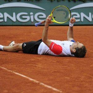 Richard Gasquet en quart de Roland Garros