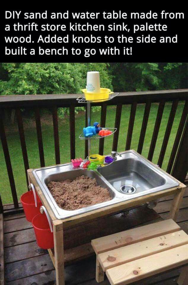 Diy sand and water table diy my do list projects for Diy sand and water table pvc