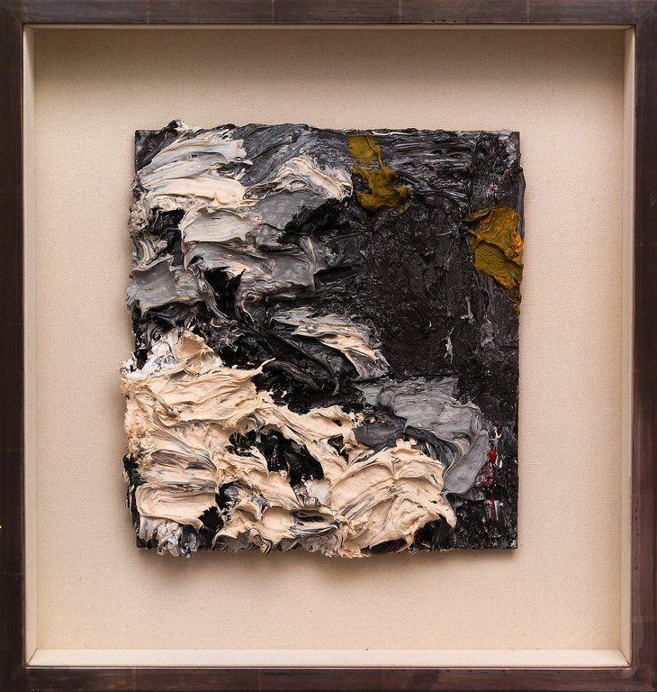 E.O.W. Looking into the Fire I, Frank Auerbach