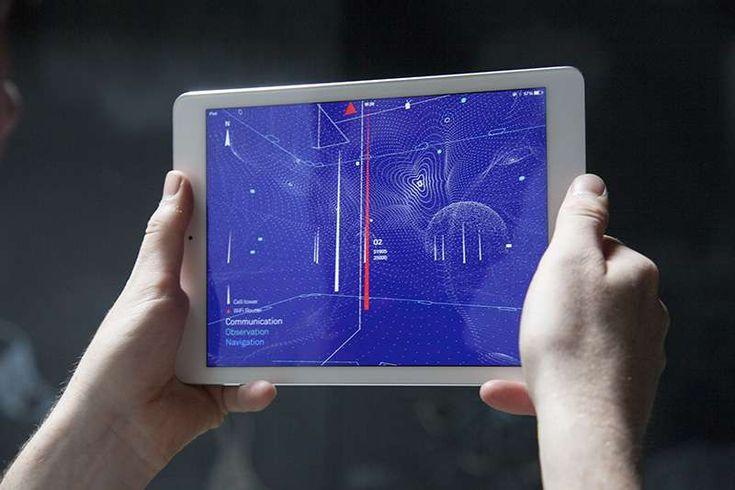 Architecture of Radio est une application mobile pour Android et iOS qui cartographie en temps réel les ondes électromagnétiques émises par les antennes relais de téléphonie mobile, les routeurs...
