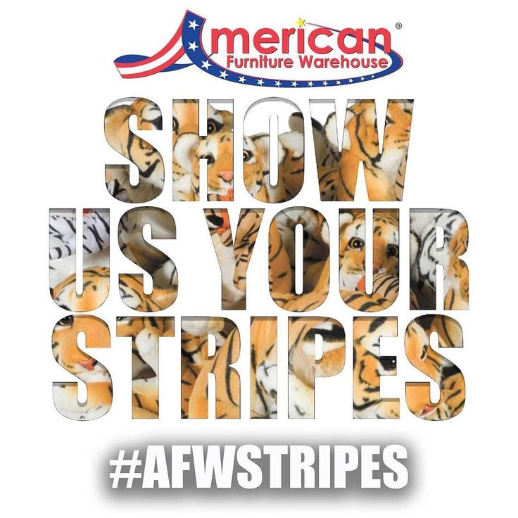 Superb SHOW US YOUR STRIPES And You Could Win A $300 Gift Card To American  Furniture Warehouse