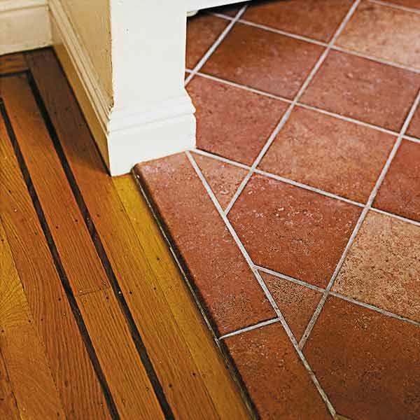 terracotta kitchen floor transitional - photo #40