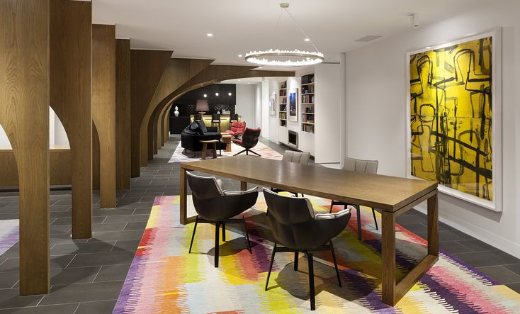 Egon Zehnder | Commercial | Workplace | Melbourne Architecture & Interior Design photographed by Dianna Snape