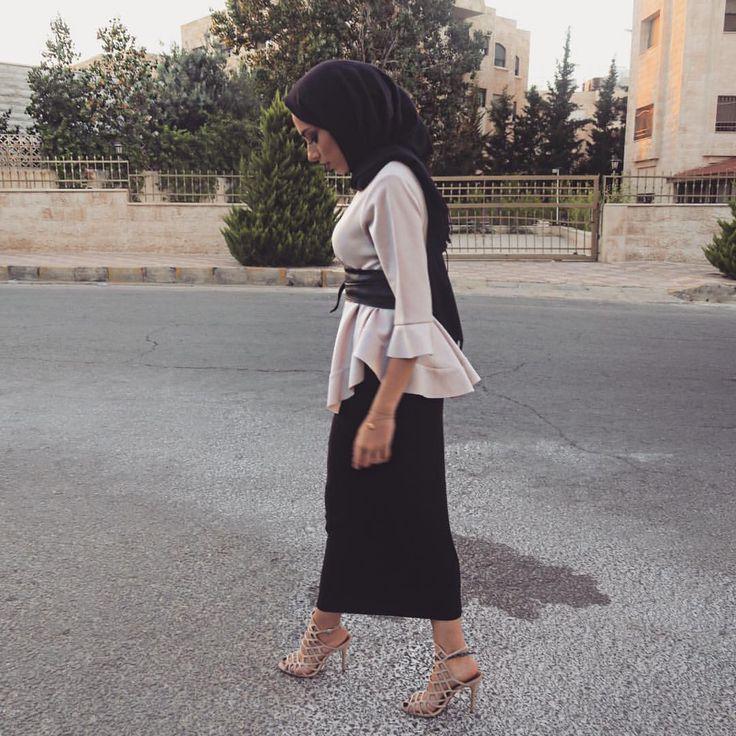 Maxi skirt styling