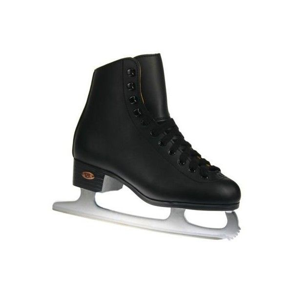 Riedell Ice Skates Boys Black Super Deal Junior 9 (2.460 RUB) ❤ liked on Polyvore featuring shoes