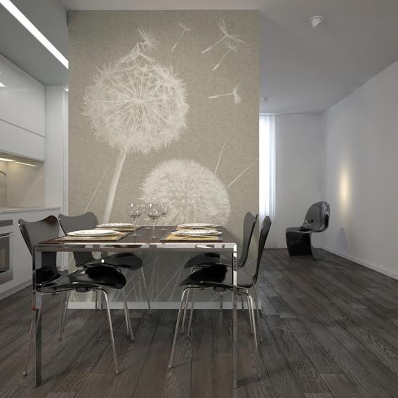 Arte accessibile: ecco un esempio di come si può decorare la propria casa con gusto ed eleganza uscendo dall'ordinario. I nuovi utilizzi delle carte da parati Jannelli & Volpi.