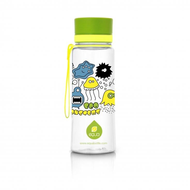 novinka v našem e-shopu, lahev EQUA Green Monsters 0.6 l