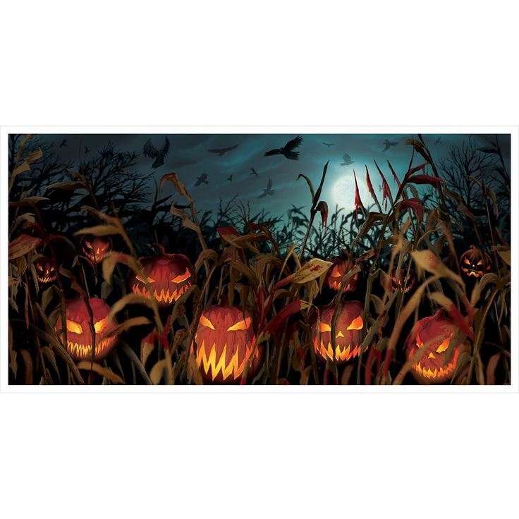 New K rbisfeld der Schreie Wanddeko Poster Halloween Dekoration Kost me und Buffet Pinterest D and Poster