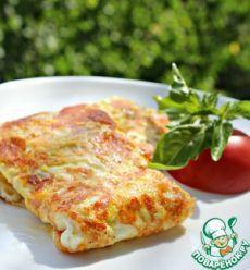 Быстрые конвертики с сыром и яйцом - кулинарный рецепт