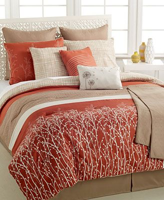 CLOSEOUT! Evolution 10-Pc. Comforter Sets