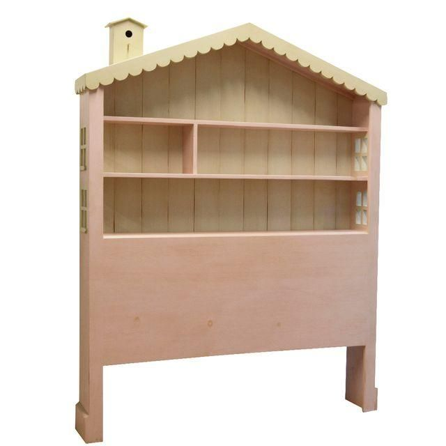 This Dollhouse Headboard Offers Headboard And Storage For Your Favorite  Books And Keepsakes And Is In Excellent Condition With The Exception Of Se.