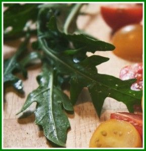 5 great reasons to grow rocket and recipes to use it in.