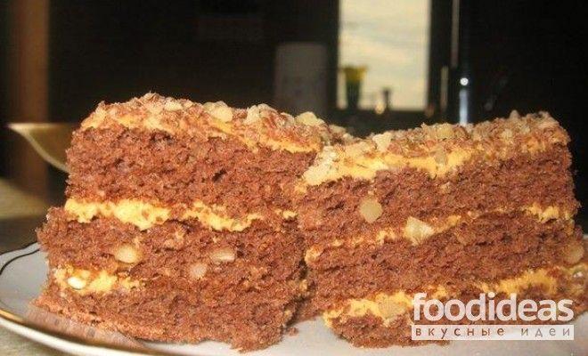 Торт медовый со сгущенкой - рецепт приготовления с фото | FOODideas.info