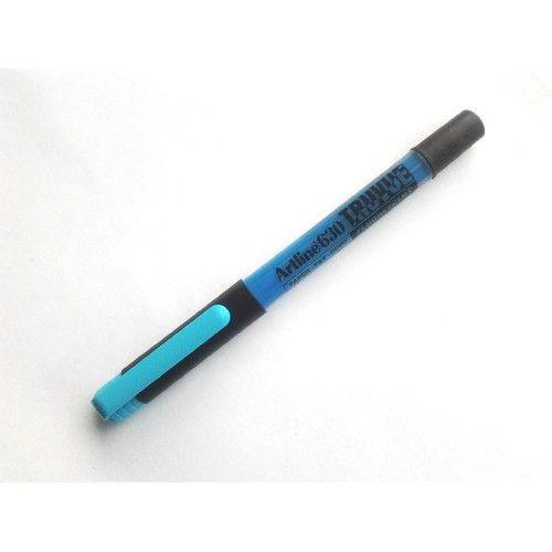 Szövegkiemelő, control system, 1-3 mm, 4 szín Artline Truvue EK 630 - 229Ft #Artline #szövegkiemelő A szövegkiemelő színe kék. A #sorkihúzó szövegkiemelő #fluoreszcens folyékony tintával van töltve. A Control System-nek köszönhetően a #tinta adagolása egyenletes és a tinta szint látható a #sorkihúzó_szövegkiemelő átlátszó testén. A kiemelt szöveg a későbbiekben fénymásolható és faxolható. #Artline_EK 630_Truvue