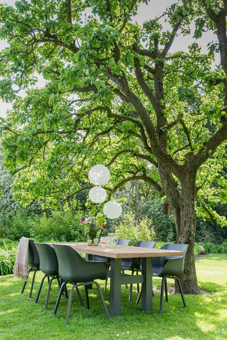 25 beste idee n over tuinsets alleen op pinterest buitendecoraties ruimtes en gezellige patio - Concrete effect tafel ...