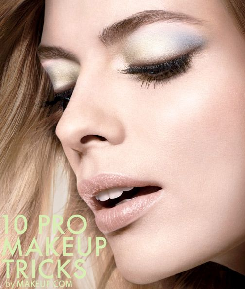 Expert makeup tricks