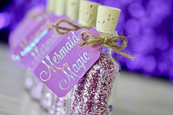 Mermaid Party Favor - Mermaid Birthday Party - Mermaid Party Supplies - Mermaid Party - Mermaid Gift for Little Girls - Under the Sea Party by TheSeaGlassSeahorse on Etsy https://www.etsy.com/listing/274534882/mermaid-party-favor-mermaid-birthday